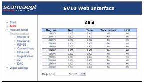 SV10 Alibi Web